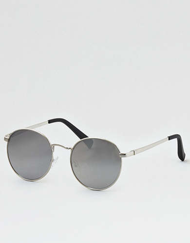Silver Rounds Sunglasses