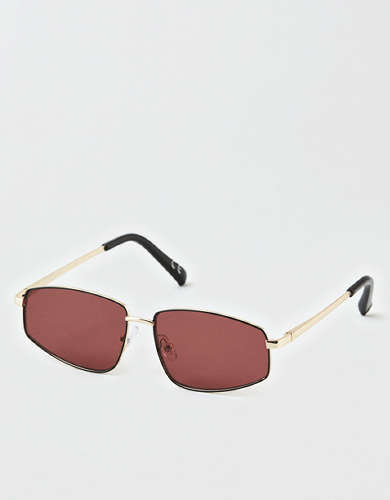 AEO Rimless Square Sunglasses