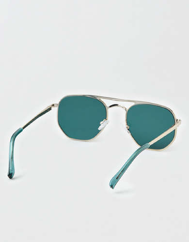 AEO Metal Aviator Sunglasses