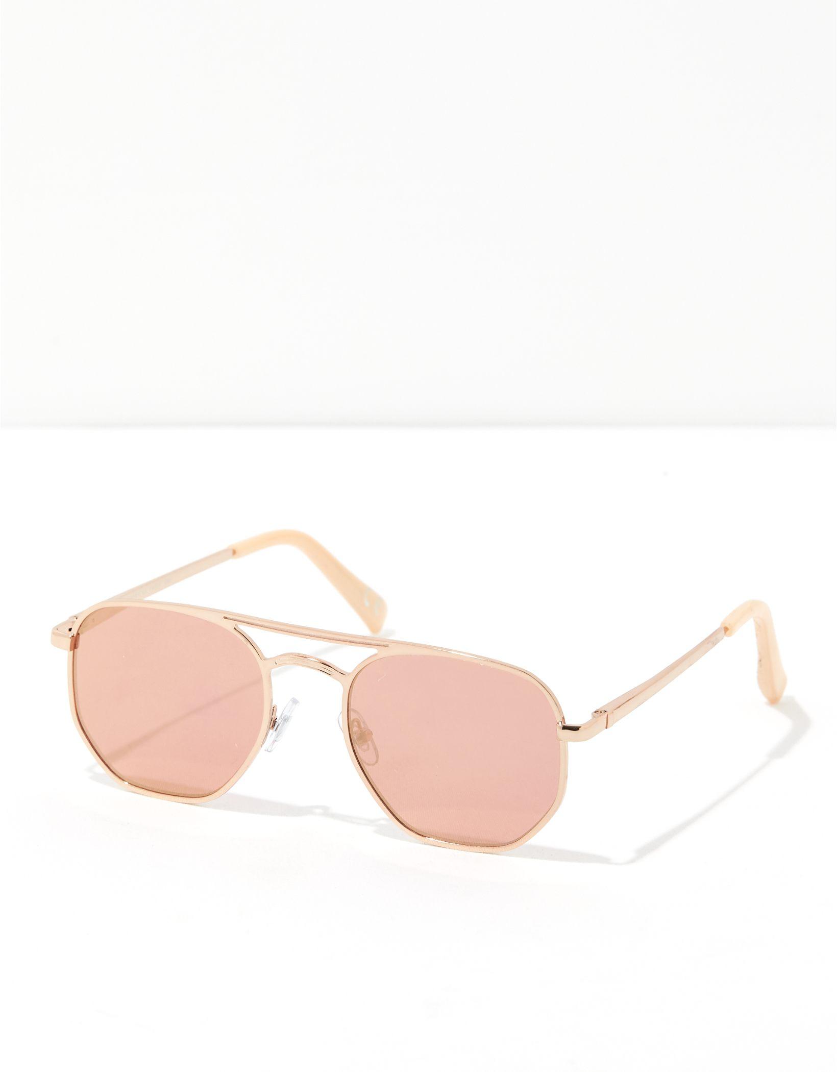AEO Metal Aviator Sunglasses