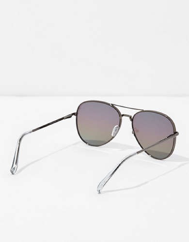 AEO Rainbow Aviator Sunglasses