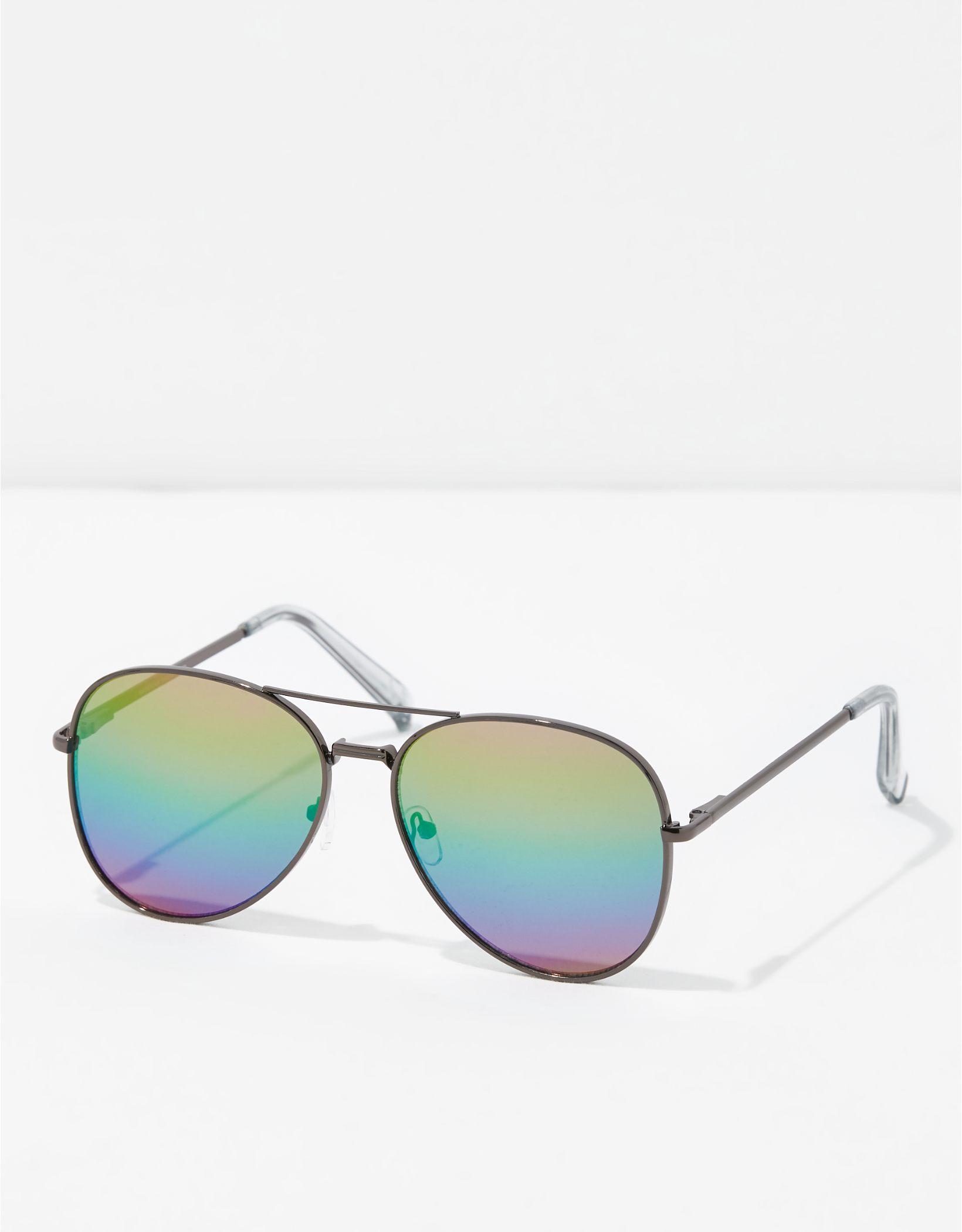 AEO Rainbow Aviator Sunglasses