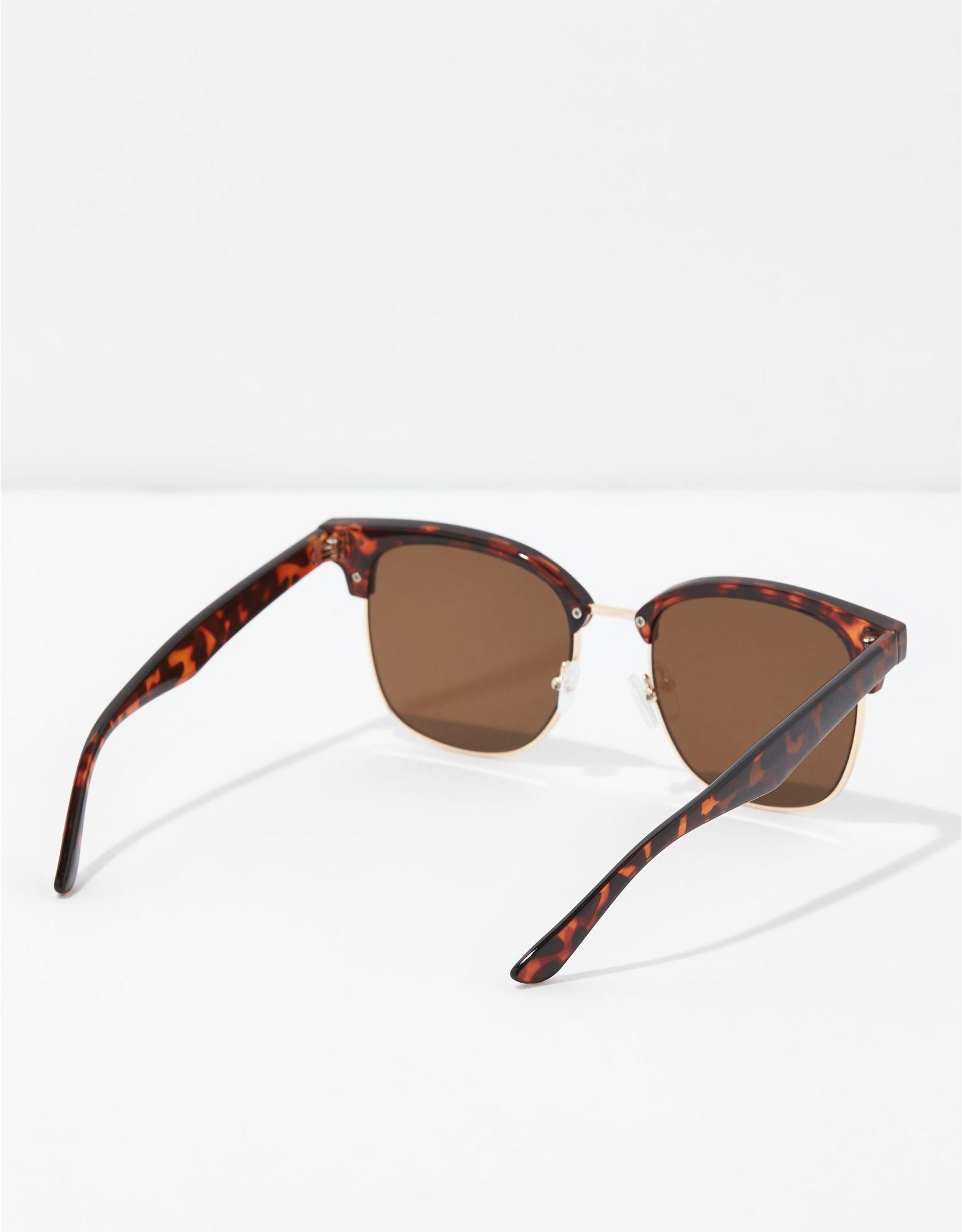 AEO Tortoise Clubmaster Sunglasses
