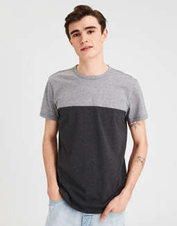 Ae Colorblock T Shirt by American Eagle Outfitters
