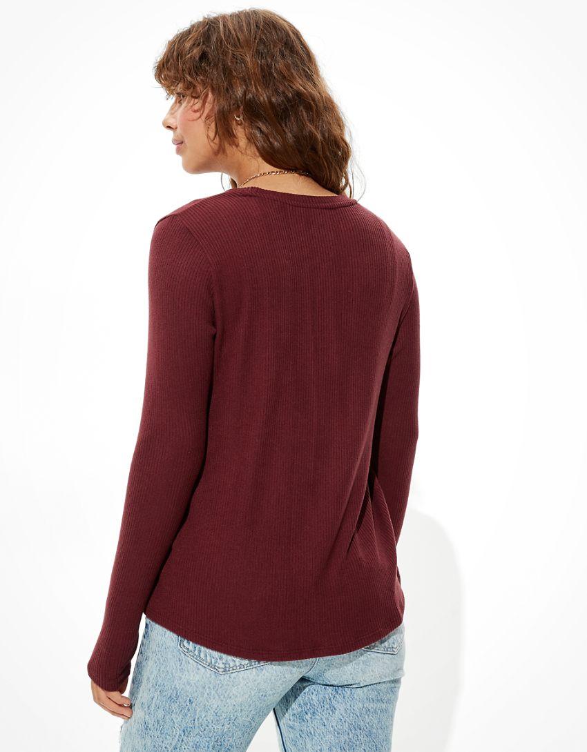 AE Soft & Sexy Plush Long Sleeve T-Shirt