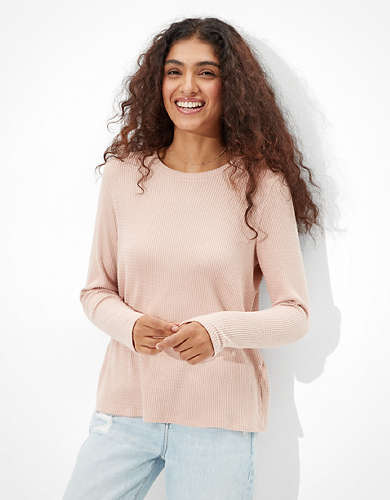 AE Soft & Sexy Plush Long Sleeve T-Shirt