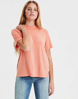 AE Mock Neck T-Shirt