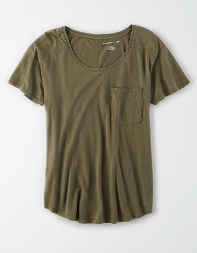 AE Scoop Neck T-Shirt