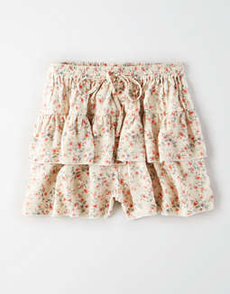 AE Studio Smocked Ruffle Shorts