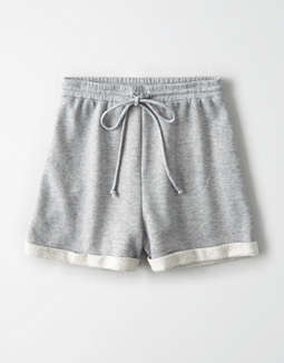 AE Studio Raw Edge Fleece Short