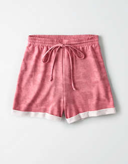 AE Studio Tie Dye Fleece Short