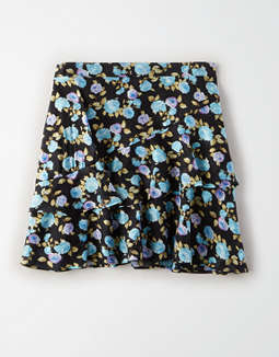 AE Studio Printed Mini Skirt