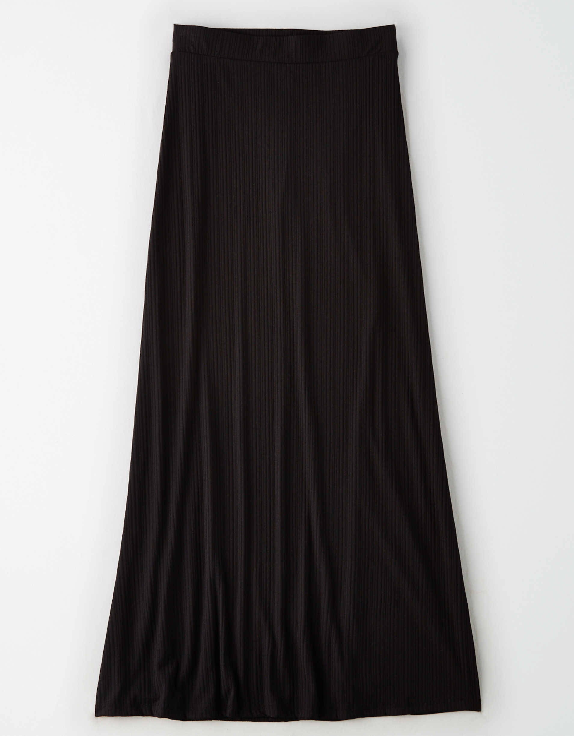 AE Studio Ribbed Maxi Skirt
