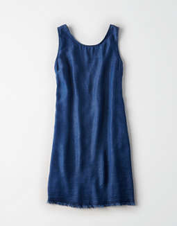 Don't Ask Why Button Back Dress by American Eagle Outfitters