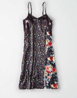 27866610c5ef placeholder image AE Studio Mix Print Midi Dress ...