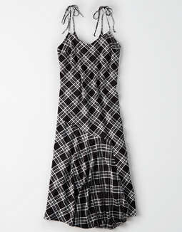 AE Studio Plaid Maxi Dress