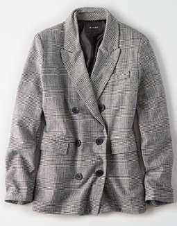 AE Studio Checkered Blazer