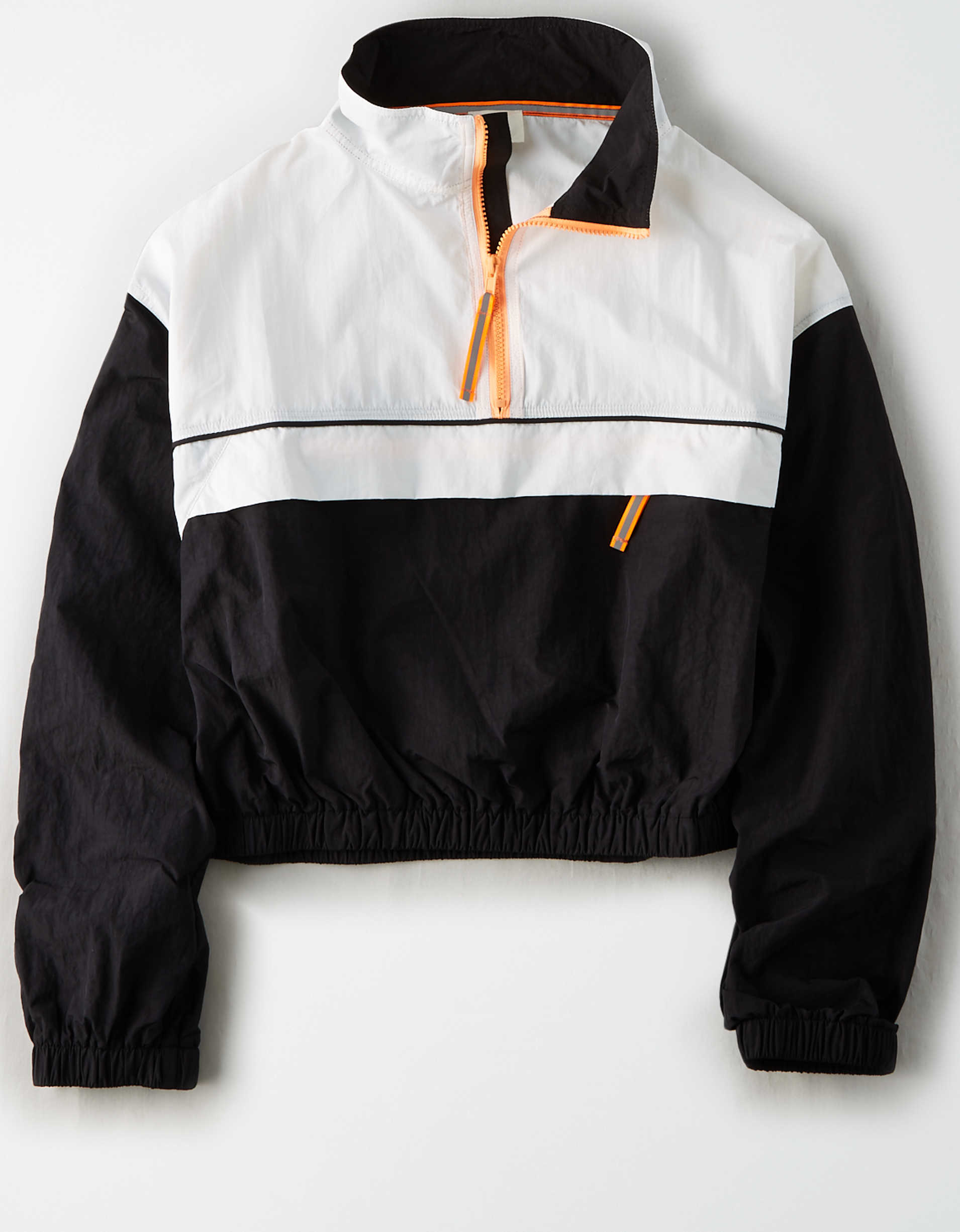AE Studio Quarter Zip Cropped Windbreaker