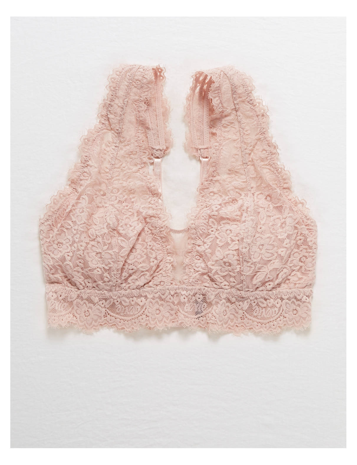 32dafea26521e This review is fromAerie Romantic Lace Plunge Bralette.