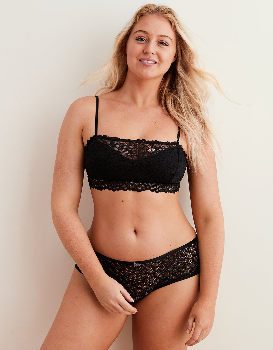 0fa81263f1b3a Aerie Highlands Lace Overlay Bralette. Placeholder image. Product Image