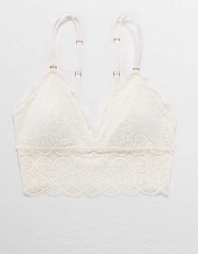 Aerie Endless Lace Padded Bralette