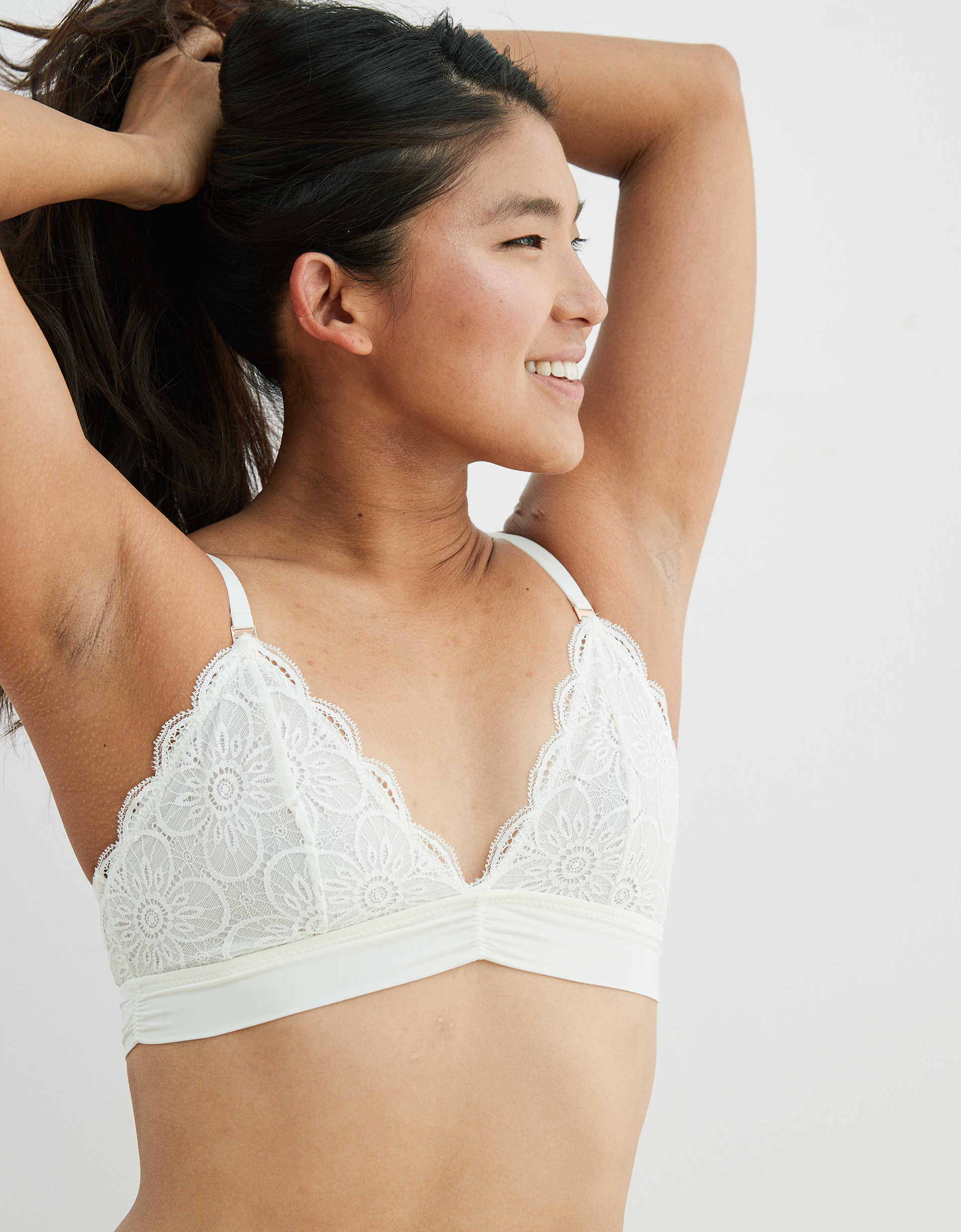 Aerie Endless Lace Triangle Bralette