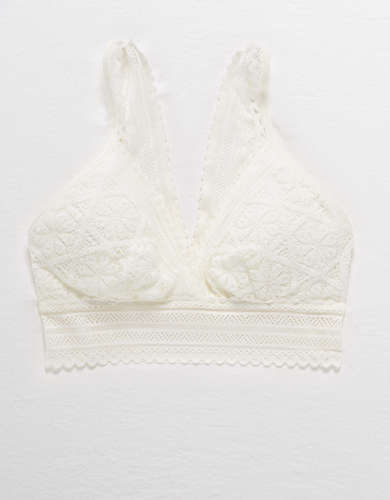 Aerie Cozy Lace Padded Bralette