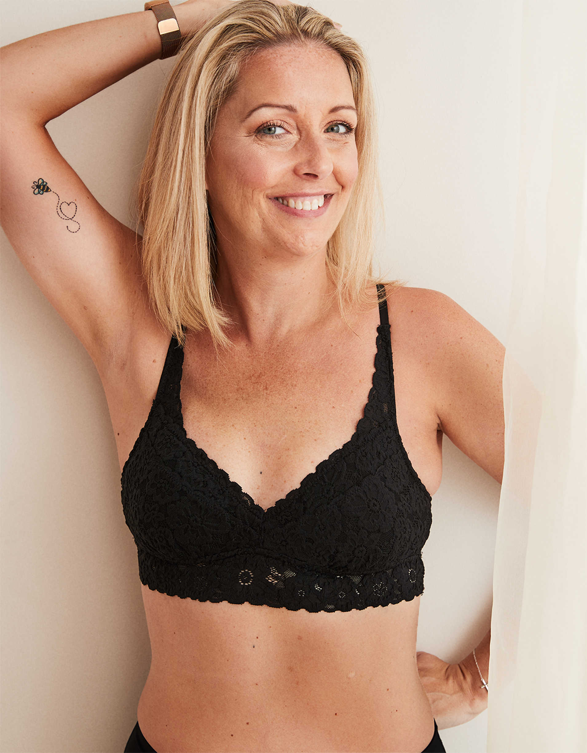 Aerie Softest® Lace Padded Bralette