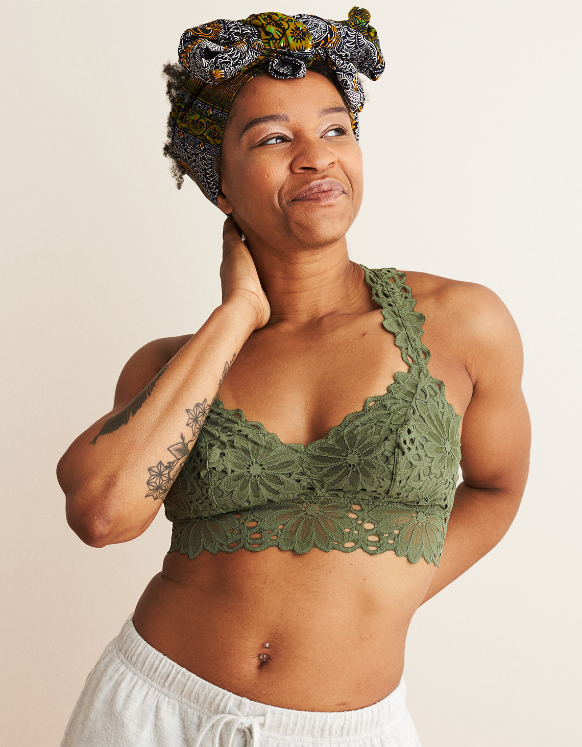 11b973f331b Aerie Lace Racerback Bralette. Placeholder image. Product Image
