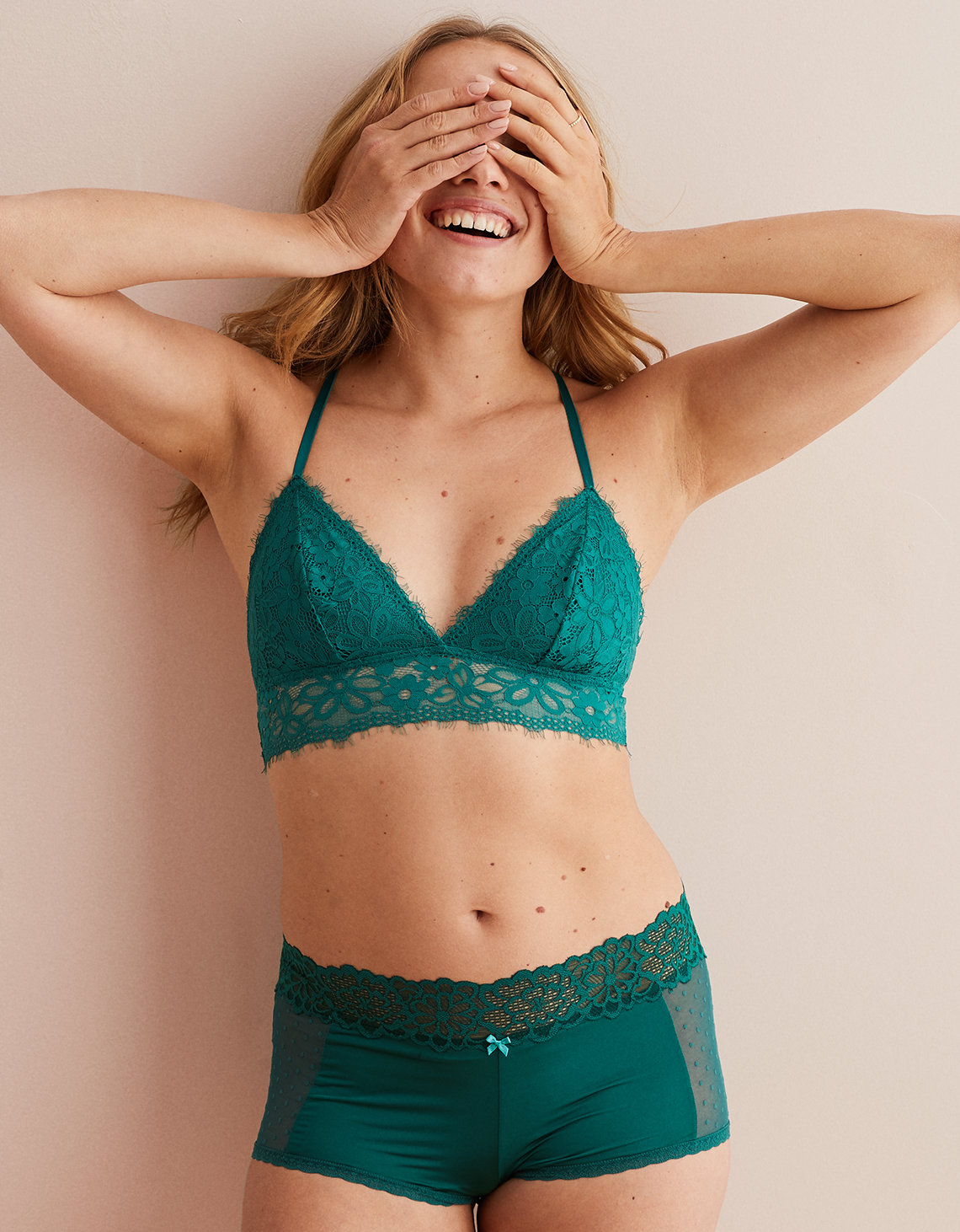 c39b3c6460 Aerie Holiday Lace Triangle Bralette. Placeholder image. Product Image