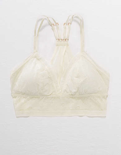 Aerie POP! Lace Padded Bralette