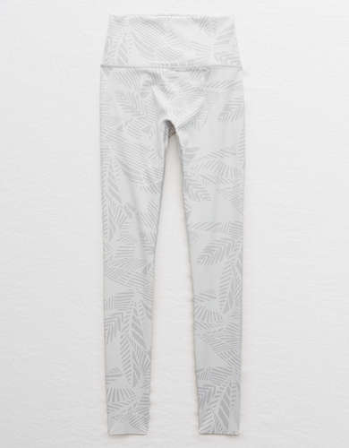 Aerie Move Printed High Waisted 7/8 Legging