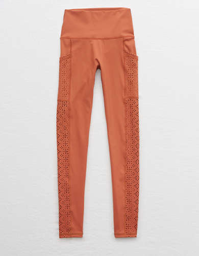 Aerie Move Lasercut High Waisted 7/8 Legging