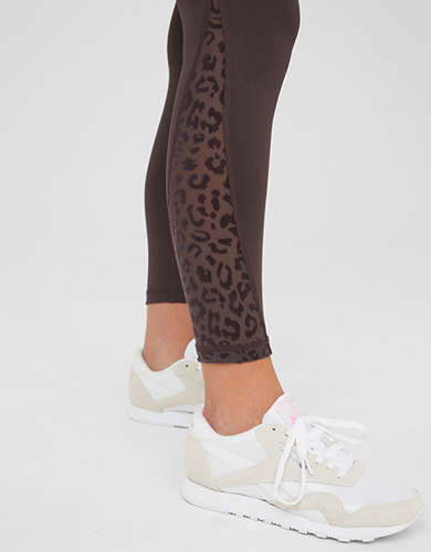 OFFLINE Goals High Waisted Leopard Mesh Legging