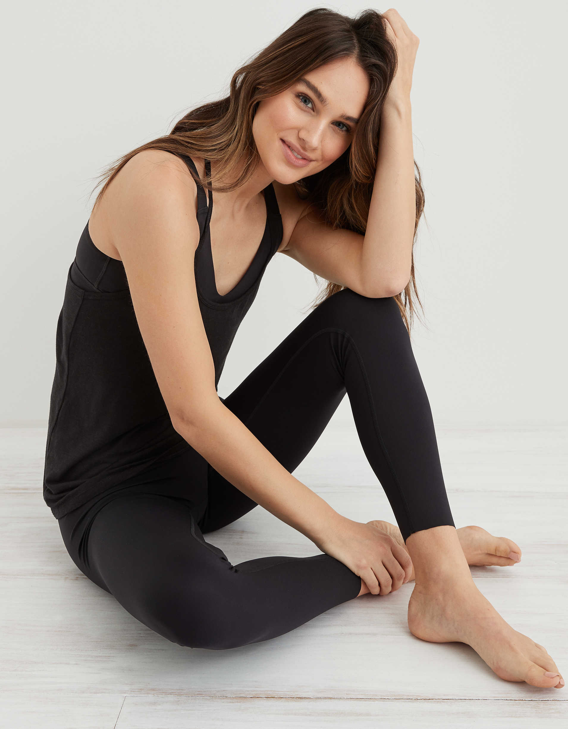 Aerie Super High Waisted Move 7/8 Legging