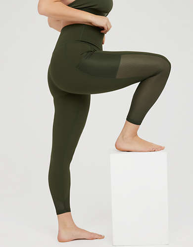 OFFLINE Goals High Waisted Mesh Pocket Legging