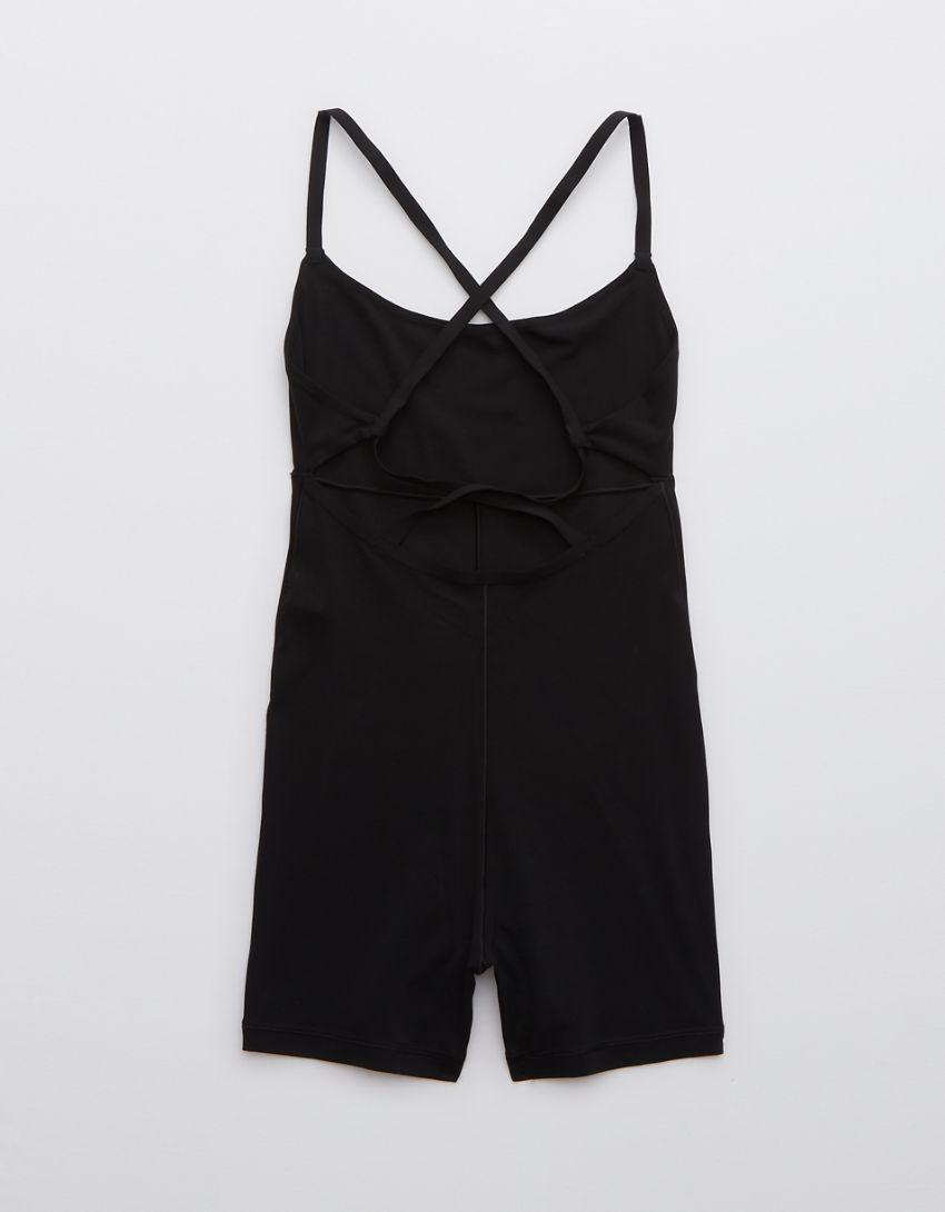 """OFFLINE Real Me 3"""" Printed Shortie Bodysuit"""