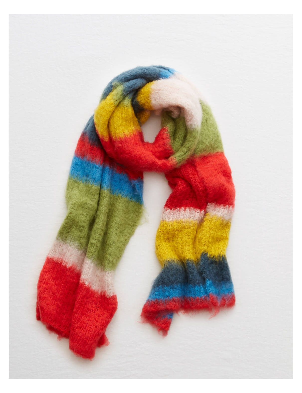 Aerie Blanket Scarf Multi Aerie For American Eagle
