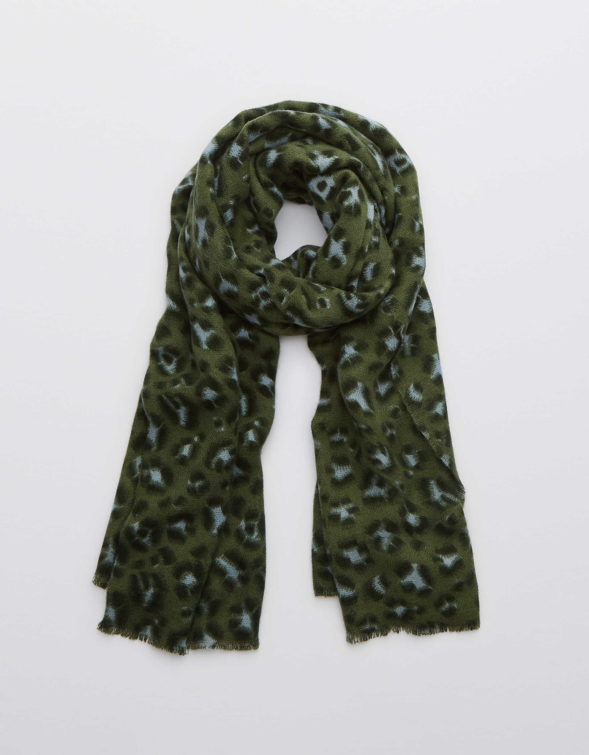 Aerie Leopard Scarf