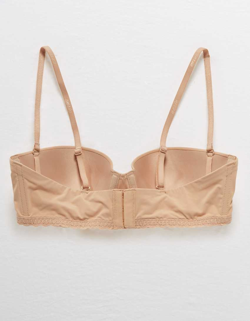 Aerie Real Happy Strapless Push Up Bra