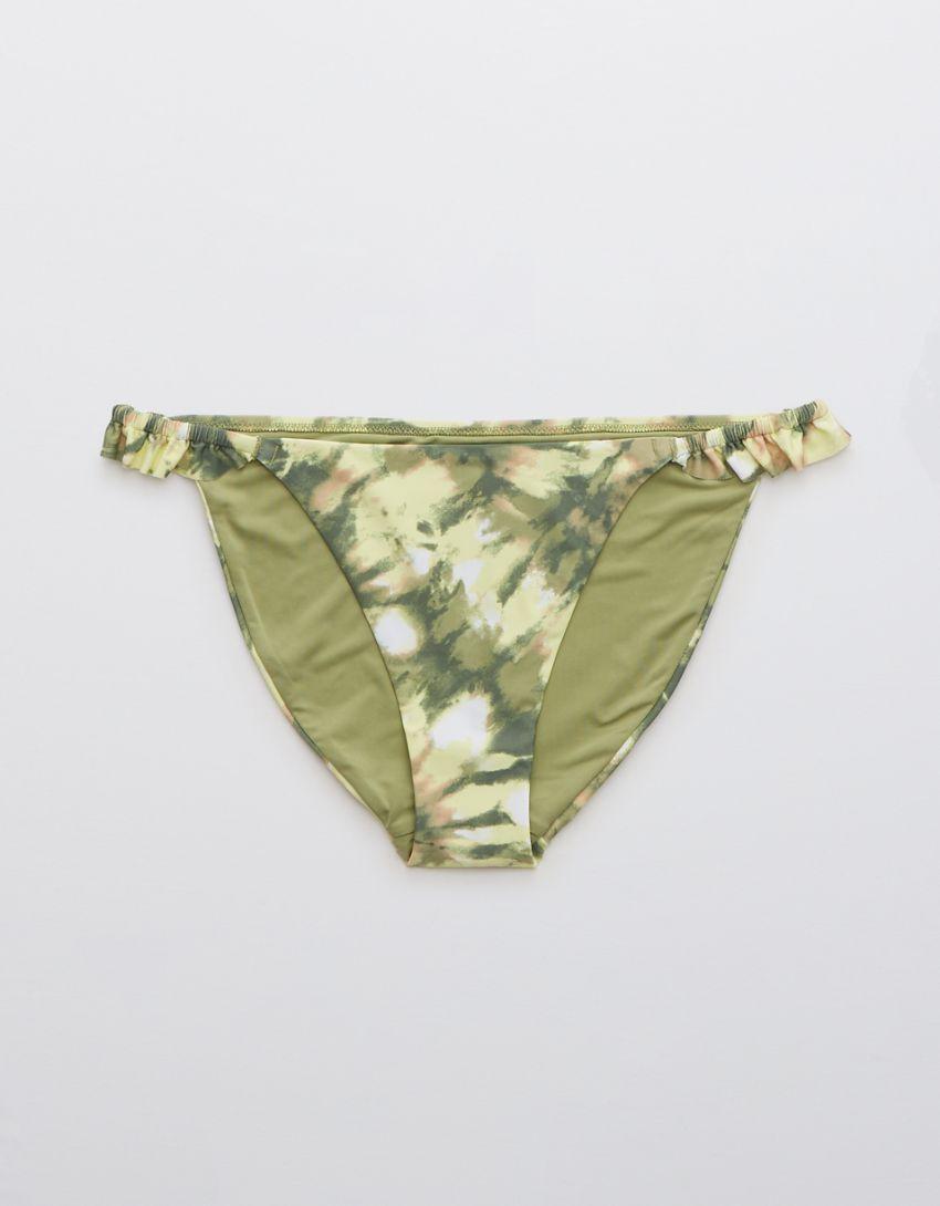 Aerie Printed Ruffle Bikini Bottom