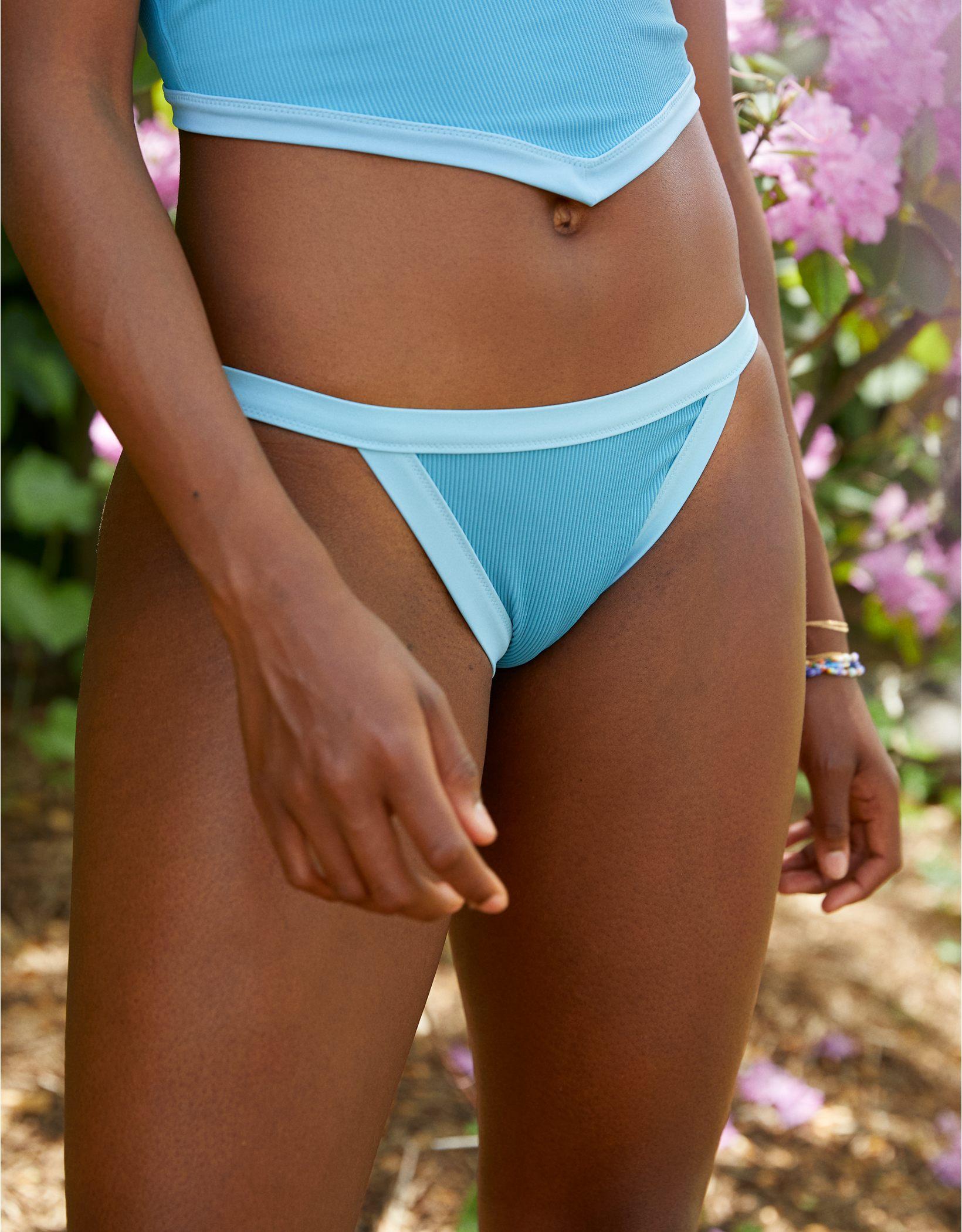 Aerie Ribbed Binding Bikini Bottom