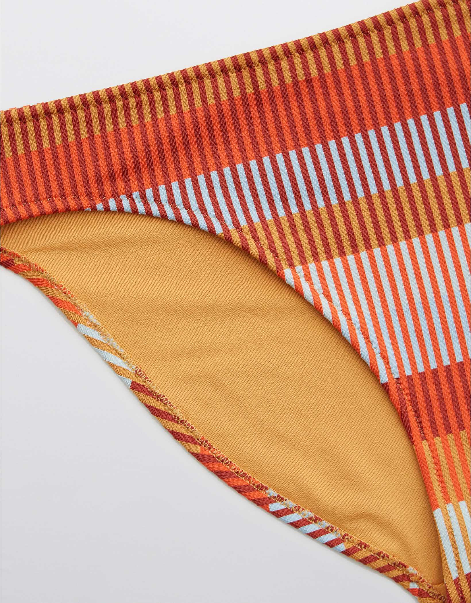 Aerie Jacquard Striped Bikini Bottom