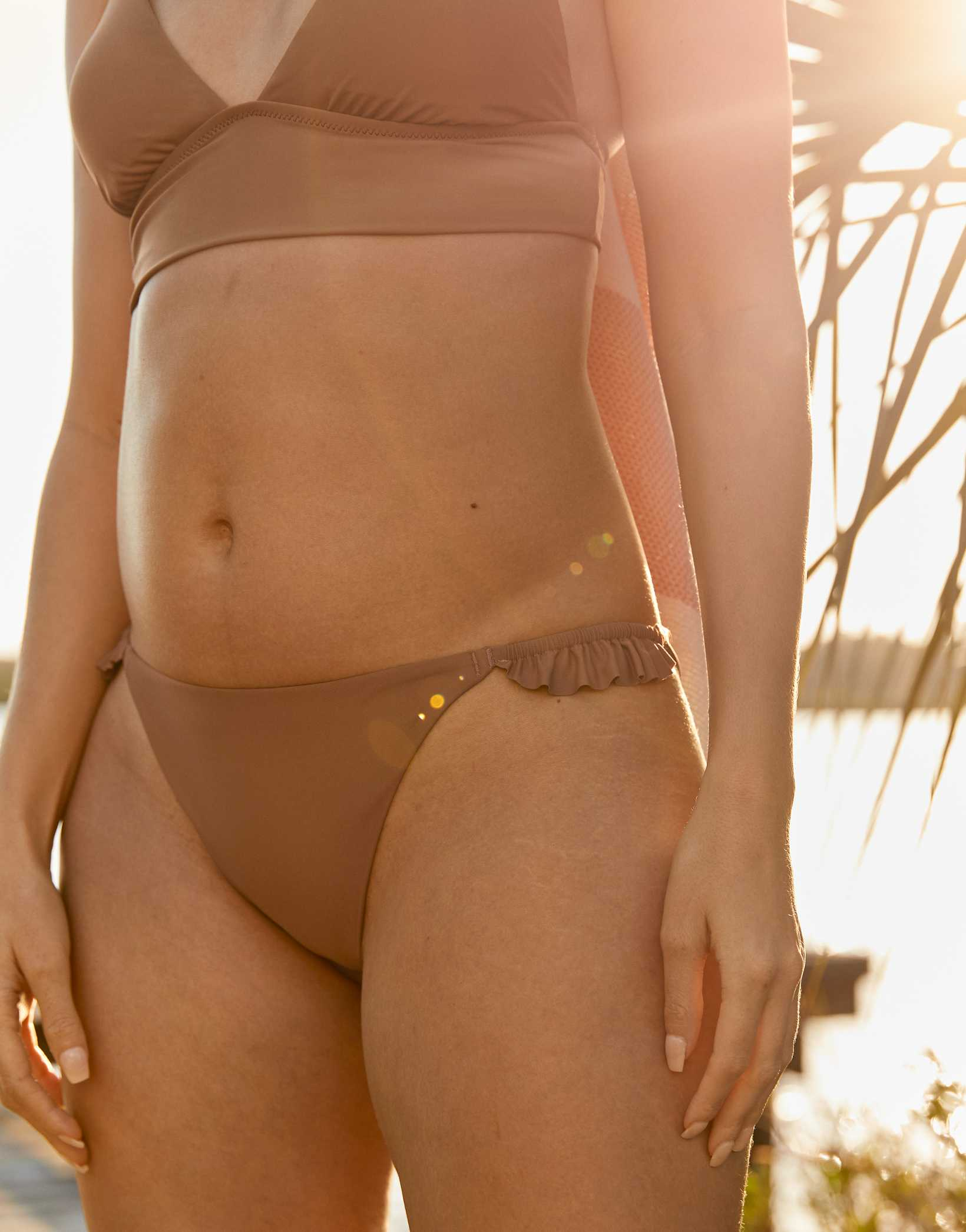 Aerie Ruffle Bikini Bottom