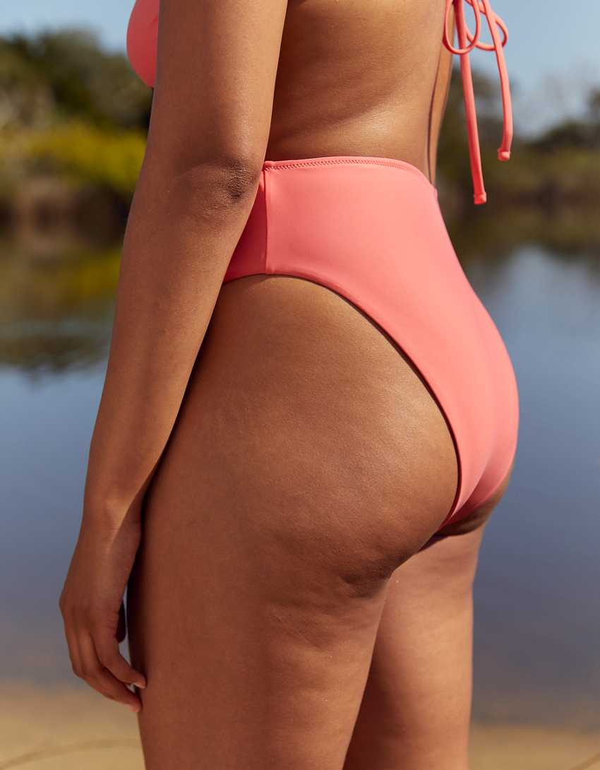 Aerie 90s High Cut Cheeky Bikini Bottom