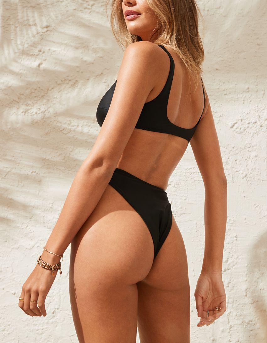 Aerie Mid Rise Cheekiest Bikini Bottom