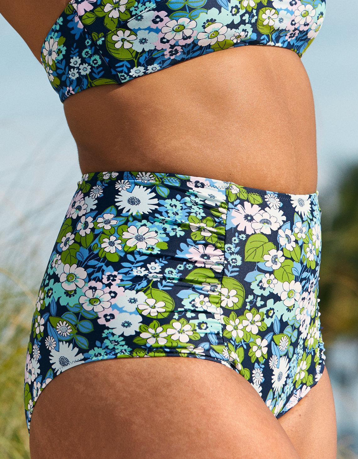 64212a9ead21c Aerie High Waisted Bikini Bottom, Monaco Blue   Aerie for American Eagle