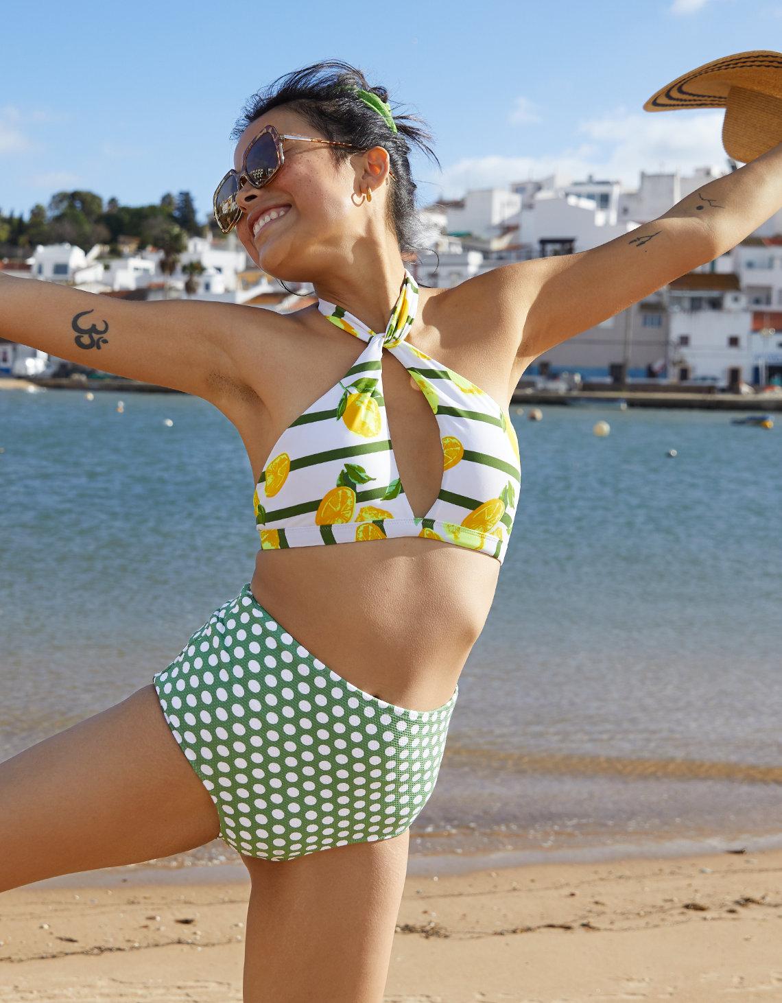 92cfc90990 Aerie Pique High Waisted Bikini Bottom