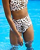 Aerie Leopard High Waisted Bikini Bottom