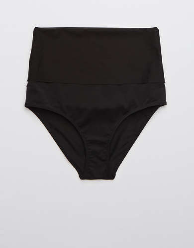 Aerie High Waisted Foldover Bikini Bottom